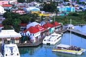 Aerial View, St John, Antigua