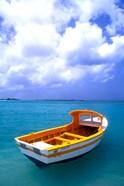 Close-up of Fishing Boat, Aruba