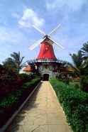 Windmill, Famous Old Mill Restaurant in Aruba