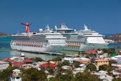 Antigua, St Johns, Heritage Quay, Cruise ship area