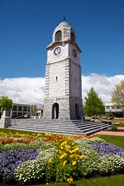 Memorial Clock Tower, Seymour Square, Marlborough, South Island, New Zealand (vertical)