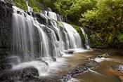Purakaunui Falls, Catlins, South Otago, South Island, New Zealand