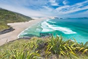 New Zealand, North Island, Cape Reinga, Te Werahi Beach