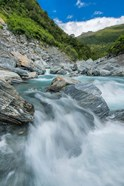 New Zealand, South Island, Mt Aspiring National Park, Haast River