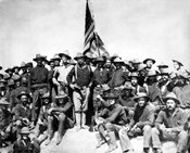 Colonel Theodore Roosevelt and The Rough Riders
