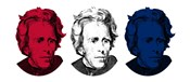Andrew Jackson in Red, White and Blue