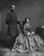 General George Armstrong Custer and his wife