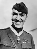 Eddie Rickenbacker (close-up)