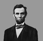 President Abraham Lincoln (digitally restored)