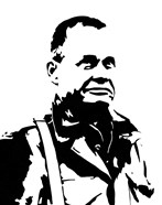 General Lewis Chesty Puller (negative view)
