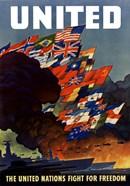 United (War Propoganda Poster)