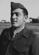 Gunnery Sergeant John Basilone (close up)