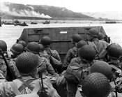American troops in Landing Craft