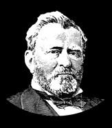 Vector Portrait of General Ulysses S Grant