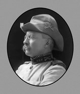 Colonel Theodore Roosevelt (side profile)