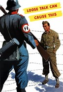 Loose Talk (War Propoganda Snake Poster)