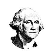 Vector Potrait of George Washington