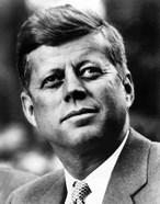 Vector Portrait of John F Kennedy