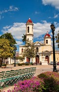 Beautiful Immaculate Conception Catholic Church in Cienfuegos, Cuba