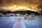 View of Flatts Village, Bermuda, Caribbean