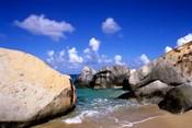 Boulders, Beach, Virgin Gorda, British Virgin Islands
