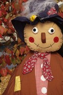 Stuffed Scarecrow on Display at Halloween, Washington