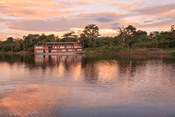 Delfin river boat, Amazon basin, Peru