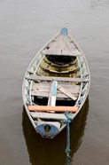 Lone wooden boat, Santarem, Rio Tapajos, Brazil, Amazon