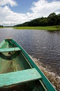 Dugout canoe, Arasa River, Amazon, Brazil