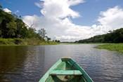 Dugout canoe, Boat, Arasa River, Amazon, Brazil