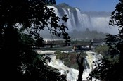 Salto Floriano, Iguacu National Park, Parana, Brazil