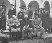 Leaders Meeting at the Yalta Conference