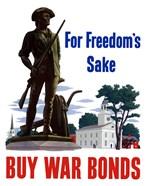 For Freedoms Sake, Buy War Bonds