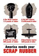 America Needs Your Scrap Rubber