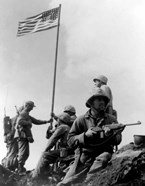 1st American Flag Raising