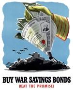 Buy War Savings Bonds - Beat the Promise!