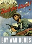 Back the Attack!  Buy War Bonds