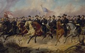 Ulysses S Grant and His Generals on Horeback