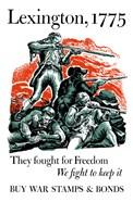 Lexington, 1775 War Poster