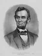 Vintage Abraham Lincoln (black & white)