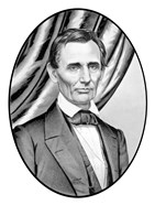 Digitally Restored Vector Portrait of Abe Lincoln