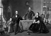 President Abraham Lincoln and His Family