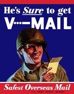 V-Mail, Safest Overseas Mail