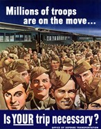Millions of Troops are on the Move