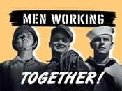 Men Working Together!