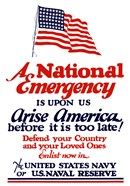 A National emergency, Arise America