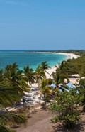 Trinidad, Cuba, beach from the Hotel Ancon