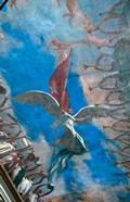 Havana, Cuba, Museum of the Revolution, murals on ceiling of museum