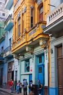 Old house in the historic center, Havana, UNESCO World Heritage site, Cuba