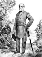General Robert E Lee Stand (black & white)